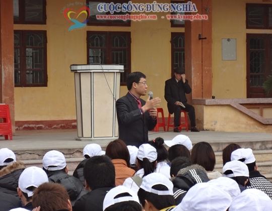 Đào tạo Kỹ Năng Làm Chủ Bản Thân cho Học Sinh Trường Nguyễn Công Trứ