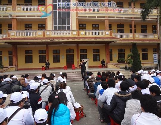 dien gia tran dinh tuan dao tao thai binh 4 Đào tạo Kỹ Năng Làm Chủ Bản Thân cho Học Sinh Trường Nguyễn Công Trứ