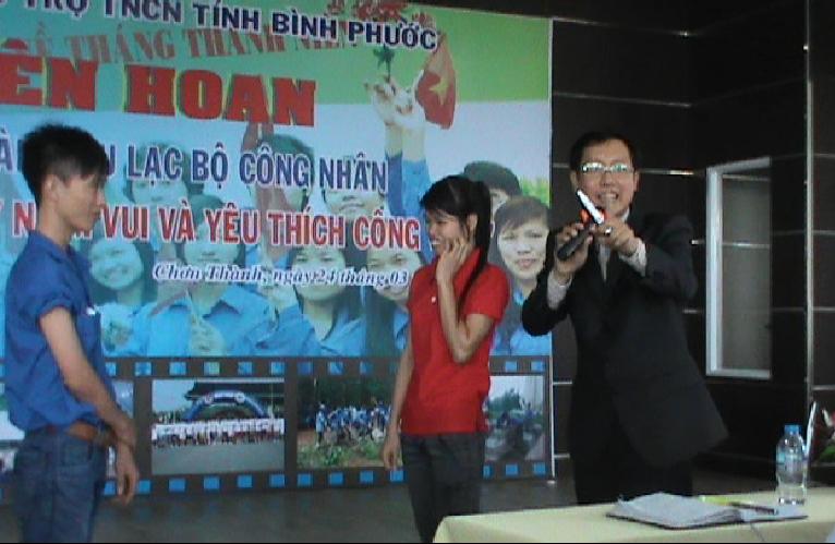 game khoi dong3 Đào Tạo Kỹ năng tìm thấy niềm vui trong công việc tại khu công nghiệp Bình Phước
