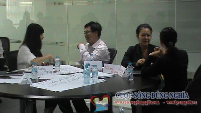 dao tao ky nang ban hang dam phan sacombank 1 Đào Tạo Kỹ Năng Đàm Phán Thương Lượng cho Sacombank HCM