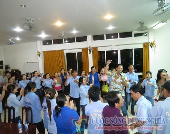 IMG 0373 Chương Trình TeamBuilding Sơn Tùng Coffee