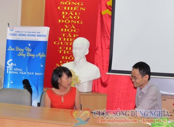 trao doi Đào Tạo Kỹ Năng Bán Hàng ngày 02 08 2013