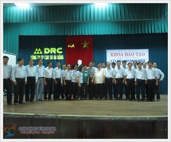 """29 /08/2013 Đào Tạo """"Văn Hóa Doanh Nghiệp"""" Tại Công Ty Cổ Phần Cao Su Đà Nẵng"""