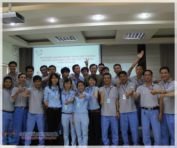 IMG 5542 Đào tạo  Tác phong chuyên nghiệp và tinh thần làm việc đội nhóm tại POSCO