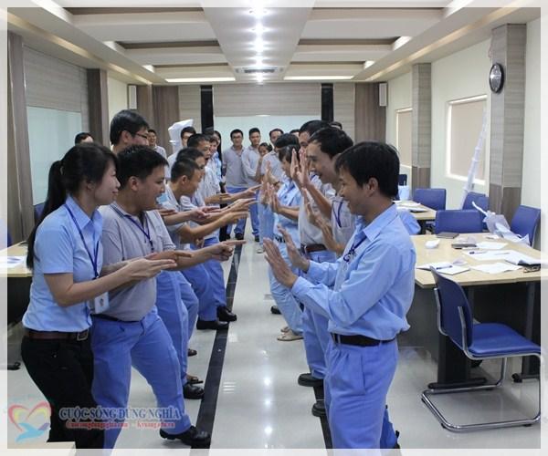 IMG 5549 Đào tạo  Tác phong chuyên nghiệp và tinh thần làm việc đội nhóm tại POSCO