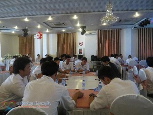 IMG 5599 Đào tạo kỹ năng giao tiếp và xử lí tình huống tại Công ty Nụ Cười Vui