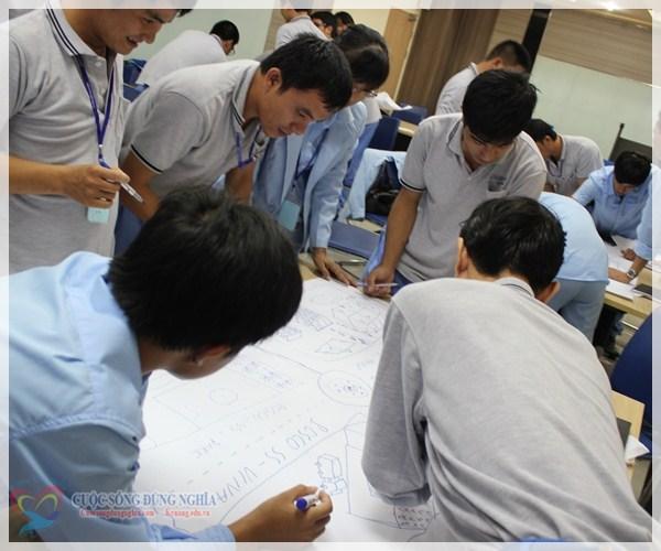 IMG 5662 Đào tạo  Tác phong chuyên nghiệp và tinh thần làm việc đội nhóm tại POSCO