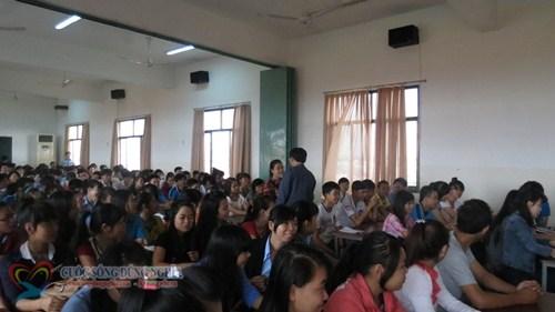 IMG 5780 Đào tạo Kỹ năng Tổ Chức Công Việc và Quản Lý Thời Gian tại Trường CĐ Nghề TP.HCM