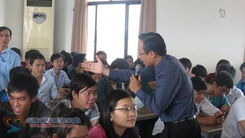 IMG 5783 Đào tạo Kỹ năng Tổ Chức Công Việc và Quản Lý Thời Gian tại Trường CĐ Nghề TP.HCM