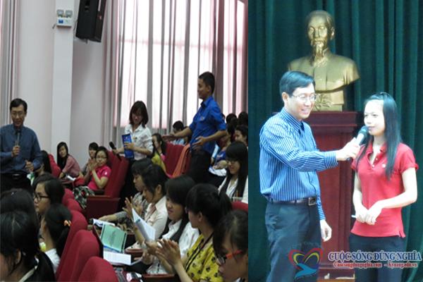 dao tao sv1 Đào tạo kỹ năng hội nhập môi trường doanh nghiệp tại trường đại học Kinh Tế Luật