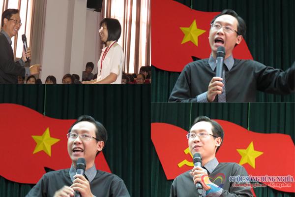 dao tao  Đào tạo kỹ năng nói chuyện trước công chúng tại trường đại học Kinh Tế Luật