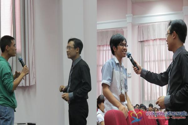 dao tao3  Đào tạo kỹ năng nói chuyện trước công chúng tại trường đại học Kinh Tế Luật