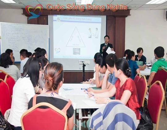 Hình ảnh đào tạo Tại Vietcombank