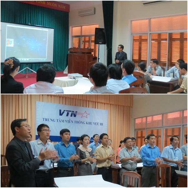 dao tao vnt3 1 Đào tạo kỹ năng giao tiếp và Trình bày thuyết phục trong bán hàng cho VTN3