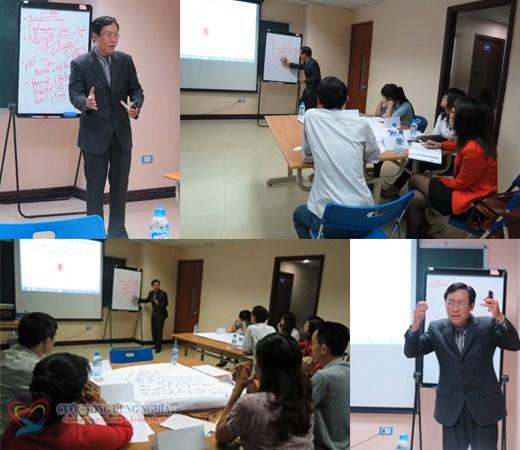 """Kèm cặp """"Kỹ năng thuyết trình"""" tại Hà Nội ngày 04-06/11/2013"""