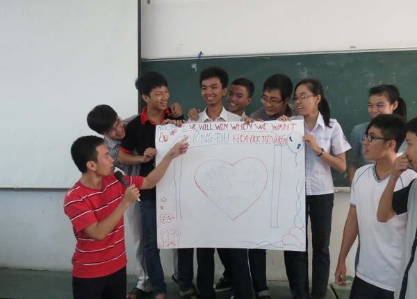 Đào Tạo Kỹ Năng Làm Việc Nhóm Và Giải Quyết Vấn Đề cho ĐH Khoa Học Tự Nhiên