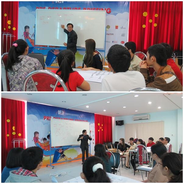 ky nang lam viec nhom eie 2 Đào tạo kỹ năng làm việc nhóm cho Viện Đào Tạo Quốc Tế IEI