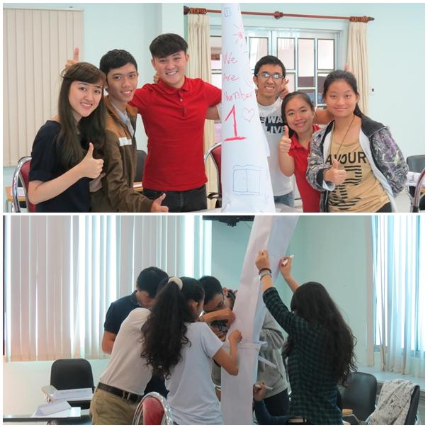 ky nang lam viec nhom eie 4 Đào tạo kỹ năng làm việc nhóm cho Viện Đào Tạo Quốc Tế IEI