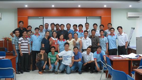 IMG 3004 Đào tạo Kỹ năng Tư duy sáng tạo cho Tập Đoàn Thiên Long