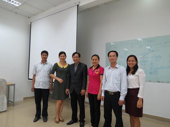 Chương trình kèm cặp về Kỹ Năng Thuyết Trình cho các Cán Bộ tập đoàn Sonadezi Long Bình