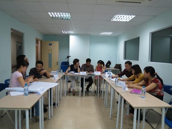 """Chương trình """" Kỹ Năng Giao Tiếp Ứng Xử """" tại Hà Nội"""