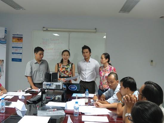 """Đào tạo Chương trình """" Kỹ Năng Làm Việc Nhóm """" tại Công ty Hi-Tech Wires Asia"""