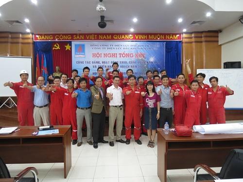 Chương trình đào tạo Văn Hóa Doanh Nghiệp Hội Nhập tại Công Ty Điện Lực Dầu Khí Đồng Nai