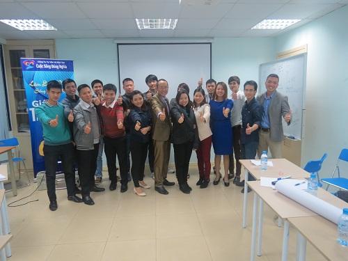 Chương trình đào tạo Kỹ Năng Giao Tiếp và Thuyết Trình từ ngày 06/04 – 10/04 tại Hà Nội