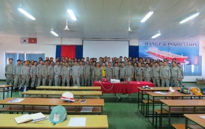 Đào tạo kỹ năng cho cho đội ngũ tổ trưởng Hyundai Vinashin