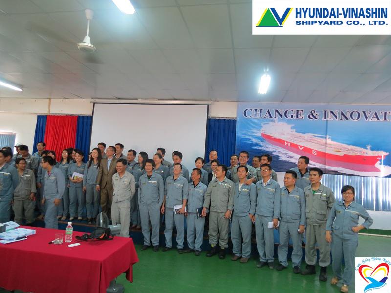 Đào tạo kỹ năng cho đội ngũ quản lý lãnh đạo HYUDAI VINASHIN