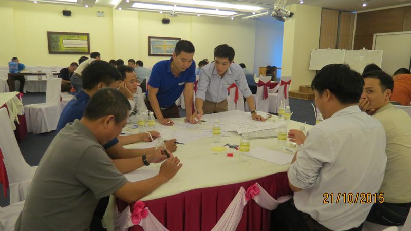 bia sai gon 3 Đào tạo kỹ năng quản lý cho đội ngũ giám sát Bia Sài Gòn