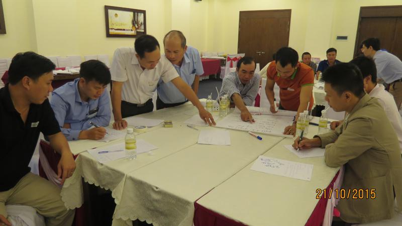 bia sai gon 4 Đào tạo kỹ năng quản lý cho đội ngũ giám sát Bia Sài Gòn