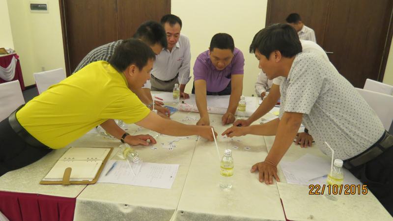 bia sai gon 8 Đào tạo kỹ năng quản lý cho đội ngũ giám sát Bia Sài Gòn