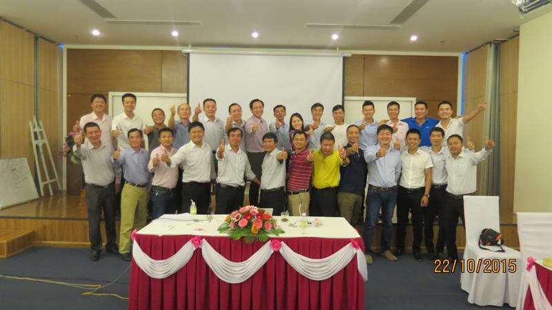 Đào tạo kỹ năng quản lý cho đội ngũ giám sát Bia Sài Gòn