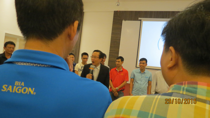 bia sai gong ben tre 11 Đào tạo Kỹ năng quản lý bán hàng cho giám sát khu vực Miền Tây và TP.HCM