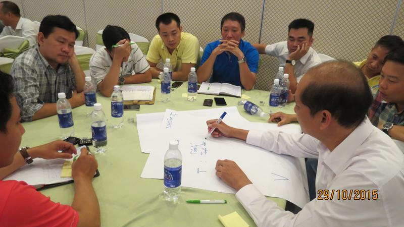 bia sai gong ben tre 4 Đào tạo Kỹ năng quản lý bán hàng cho giám sát khu vực Miền Tây và TP.HCM