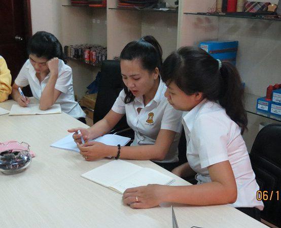 dao tao dayouhan 1 554x449 Đào Tạo Kỹ Năng Giao Tiếp và Làm Việc Nhóm Cho DAYOUHAN