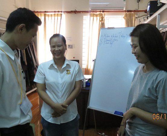 dao tao dayouhan 2 554x449 Đào Tạo Kỹ Năng Giao Tiếp và Làm Việc Nhóm Cho DAYOUHAN