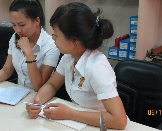 dao tao dayouhan 5 554x449 Đào Tạo Kỹ Năng Giao Tiếp và Làm Việc Nhóm Cho DAYOUHAN