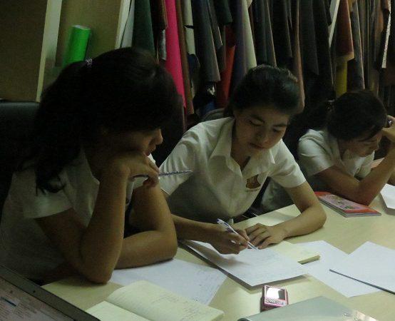 dao tao dayouhan 6 554x450 Đào Tạo Kỹ Năng Giao Tiếp và Làm Việc Nhóm Cho DAYOUHAN