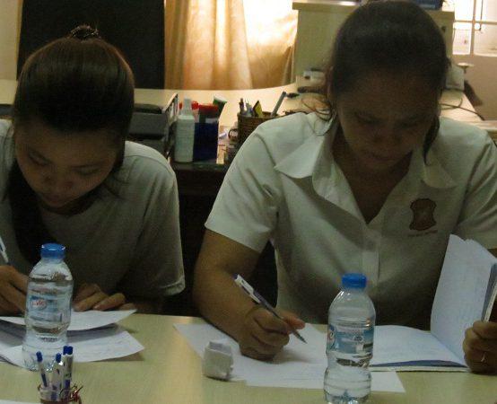 dao tao dayouhan 7 554x450 Đào Tạo Kỹ Năng Giao Tiếp và Làm Việc Nhóm Cho DAYOUHAN