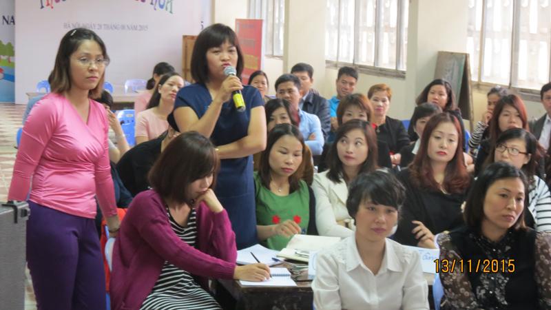 dao tao kyt nang mem cung thieu nhi 8 Đào tạo Kỹ năng mềm cho Cung Thiếu Nhi Hà Nội