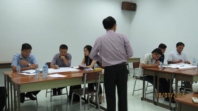 IMG 3485 Đào tạo Kỹ Năng Giao Tiếp Và Thuyết Trình Hiệu Quả cho học viên TP.HCM  tháng 01/2016
