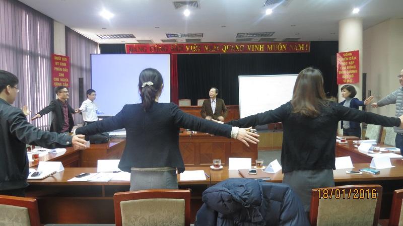 IMG 3733 Đào Tạo kỹ năng giao tiếp và làm việc  nhóm cho Cục Hàng Không Việt Nam