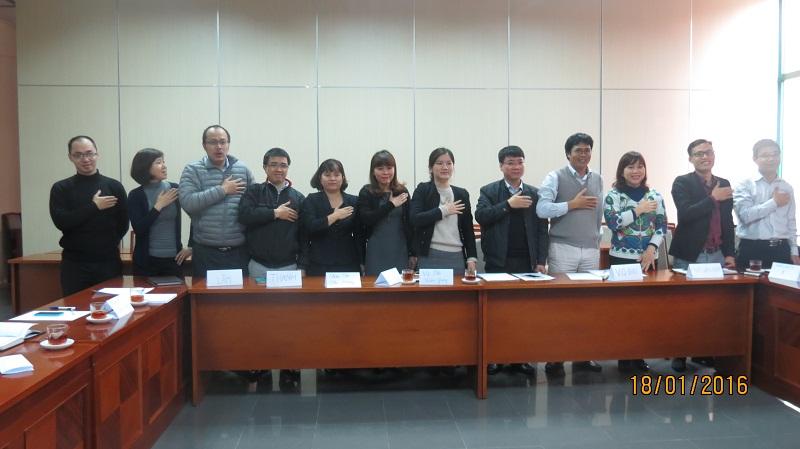 IMG 3743 Đào Tạo kỹ năng giao tiếp và làm việc  nhóm cho Cục Hàng Không Việt Nam