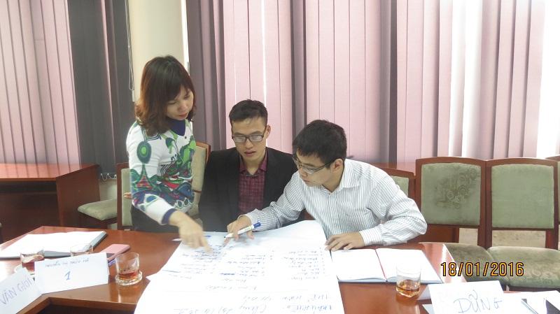 IMG 3760 Đào Tạo kỹ năng giao tiếp và làm việc  nhóm cho Cục Hàng Không Việt Nam