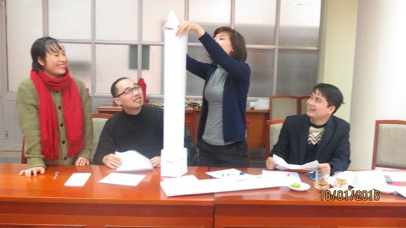 Đào Tạo kỹ năng giao tiếp và làm việc  nhóm cho Cục Hàng Không Việt Nam