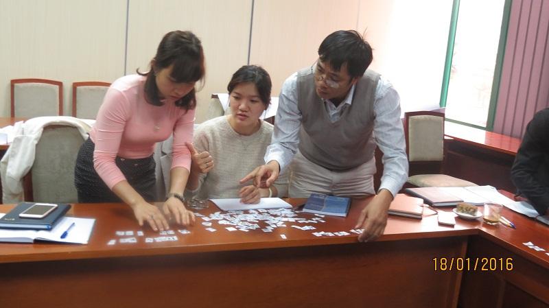 IMG 3894 Đào Tạo kỹ năng giao tiếp và làm việc  nhóm cho Cục Hàng Không Việt Nam