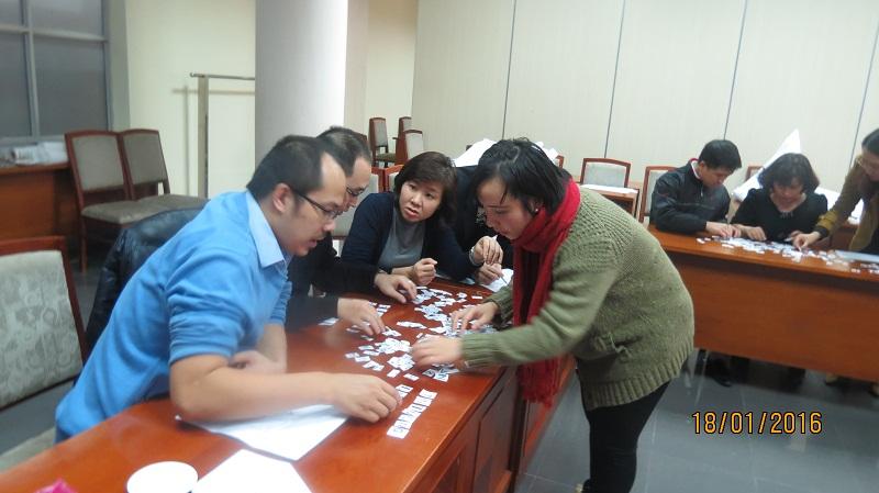 IMG 3902 Đào Tạo kỹ năng giao tiếp và làm việc  nhóm cho Cục Hàng Không Việt Nam