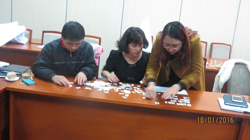IMG 3904 Đào Tạo kỹ năng giao tiếp và làm việc  nhóm cho Cục Hàng Không Việt Nam